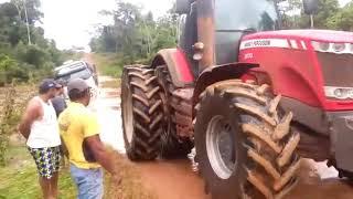 Motorista passa apuros em estrada rural em Corumbiara  Rondônia.