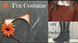 Fox Costume (DIY + Outfits)