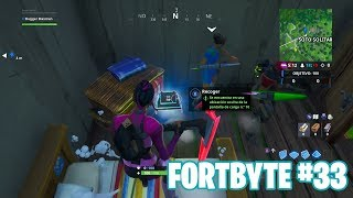 Fortnite Battle Royale ? Fortbyte Challenges How to get the Fortbyte #33