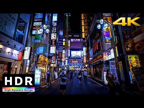 【4K HDR】Night Walk in Tokyo Red Light District - Shinjuku Kabukicho(歌舞伎町散歩) - Japan Walking Tour