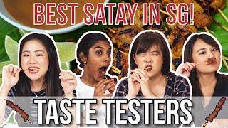 Best Satay in Singapore   Taste Testers   EP 97
