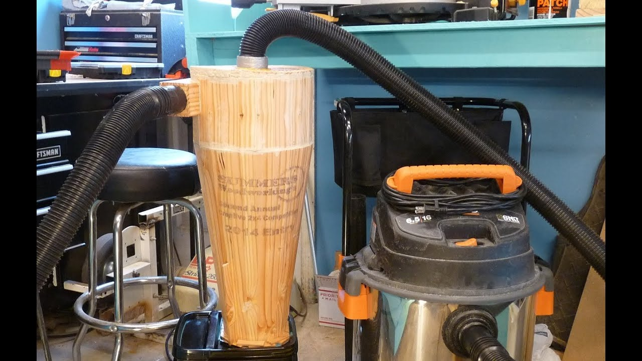 Wooden Cyclone Dust Collector Youtube