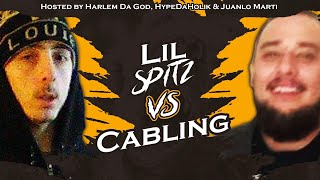 Watch Lil Spitz take on Cabling! One of our try out battles of the ...
