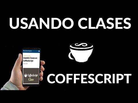 Usando Clases en CoffeeScript