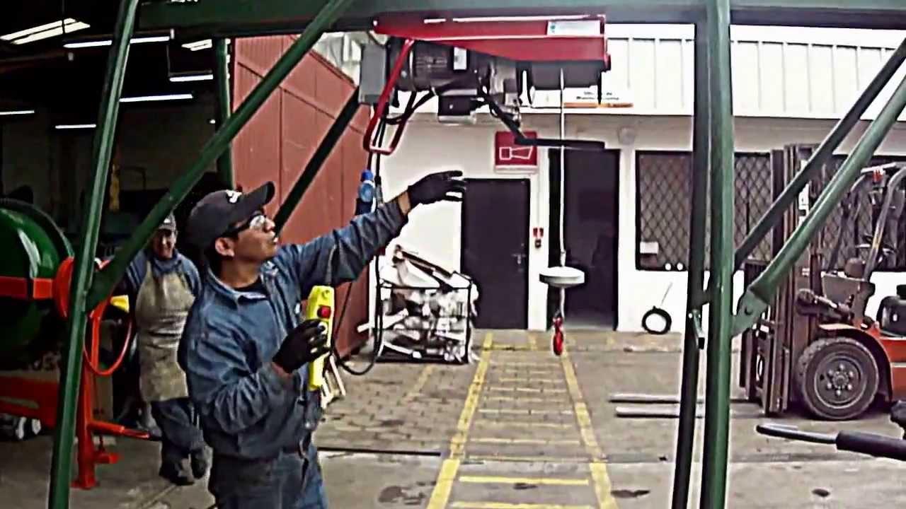 Elevador De Caballete Monof 225 Sico 500kg Youtube