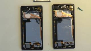 Sony Xperia X LCD Touch Screen replacement, repair, Assembly