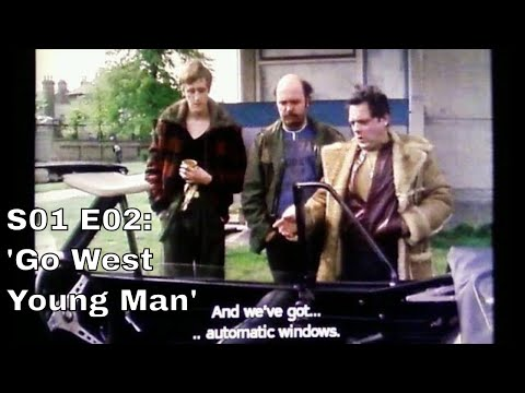 "Only Fools and Horses. Script #2 Mk 1 ie S01 E02 ""Go West Young Man"" (Season 1: Episode 2 of 6)"