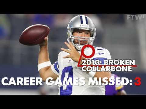 Breakdown: Tony Romo's career injuries