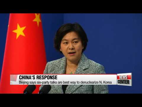 Beijing says six-party talks are best way to denuclearize N. Korea