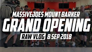 MassiveJoes Mount Barker Grand Opening | RAW VLOG 8 Sep 2018