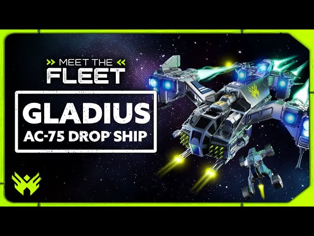 Gladius AC-75 Drop Ship