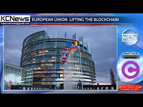 The European Union contributes to the blockchain