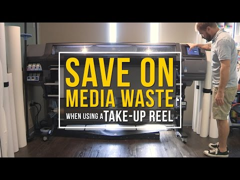 Quick Look: Save on Media Waste When Using a Take-Up Reel