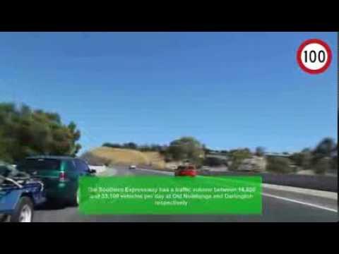'Southern Expressway' - World's Longest One Way Freeway (1997-2014) - Adelaide, South Australia