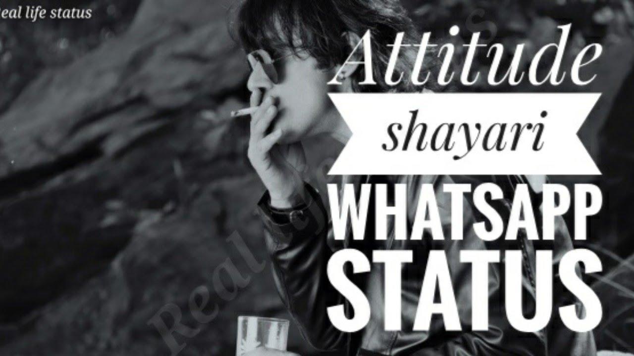 Attitude shayari WhatsApp status| new shayari status video