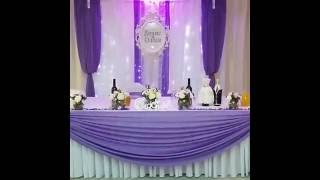 Сиреневая свадьба ресторан Новые Горки г.Королев