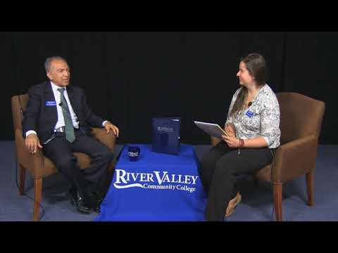 River Valley Community College  Introducing Dr  Ali Rafieymehr   June 21, 2017
