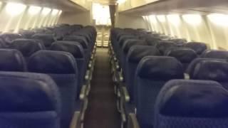 Boeing 757 Cabin Tour
