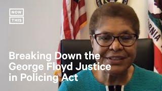 Rep. Karen Bass Breaks Down George Floyd Police Reform Bill