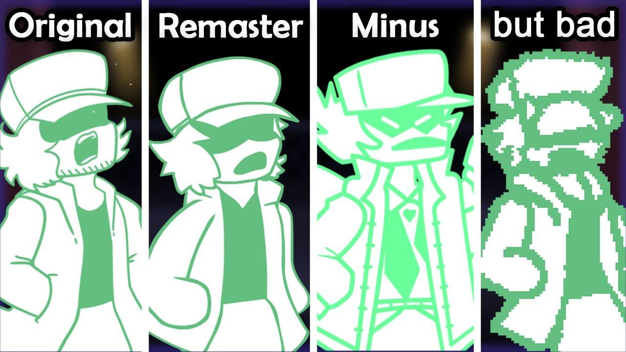 Download GARCELLO: Original VS Reanimated VS Minus VS Bad   FNF Mods