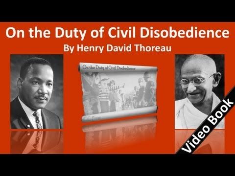On the Duty of Civil Disobedience Audiobook by Henry David Thoreau