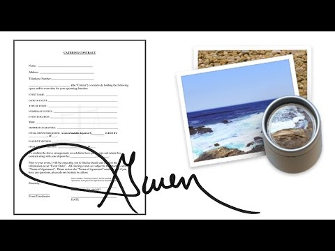 How To Sign A Document With Preview In Mac - Pdf, Jpg, Png, ...FREE