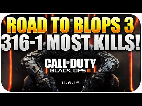 Road To Black Ops 3 - 316-1 Worlds First 300, Blops 3 News + info (Black Ops 2 Gameplay) poster