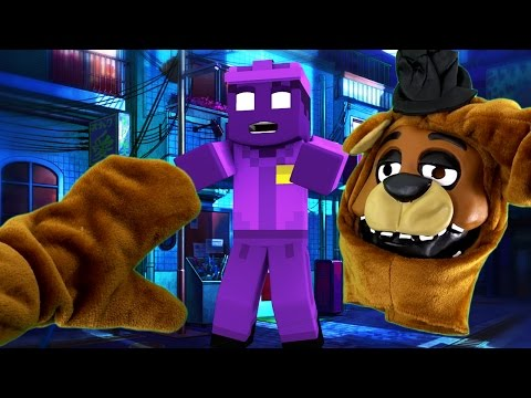 Realistic Minecraft - BECOMING FNAF ANIMATRONICS IN REAL LIFE!