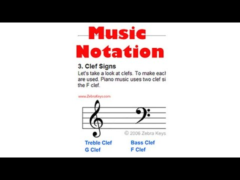 Piano 101 - Lesson 4: Learn Music Notation