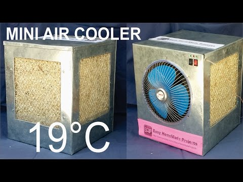 How to make an AIR COOLER at home