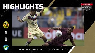 SCCL2020: America vs Comunicaciones | Highlights