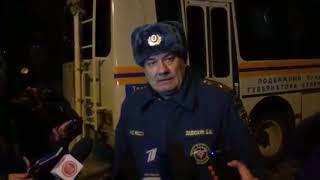 Зимняя вишня. Последние новости о пожаре. Рассказывает очевидец и сотрудник МЧС