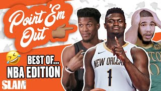 NBA Stars CALLING EACH OTHER OUT! The BEST Moments! ⭐ | SLAM Point 'Em Out