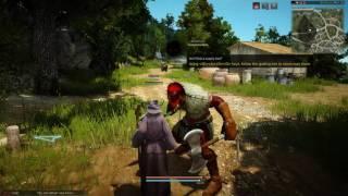Black Desert Online - Lets Play - Part 2 - The Journey Begins
