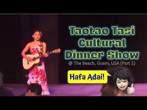 Tao Tao Tasi Cultural Show @ The Beach, Guam   Part 1