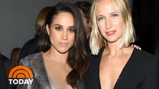 Meghan Markle Surprises Women At Photo Shoot For Her New Clothing Line | TODAY
