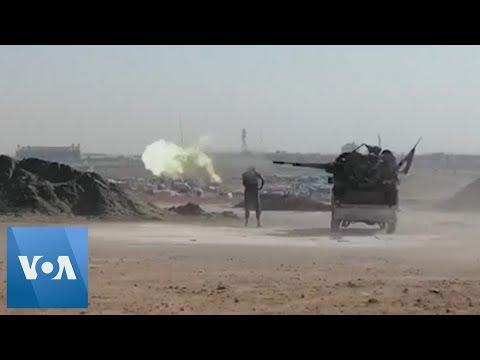 Kurd, Syrian Forces Battle Turkey-Backed Troops