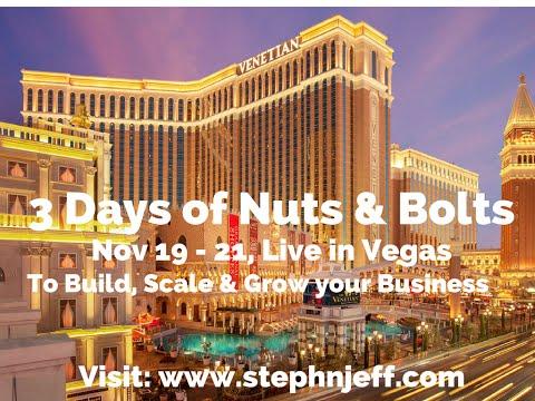 Tecademics Live Affiliate Marketing Conference Nov 2016 in Vegas