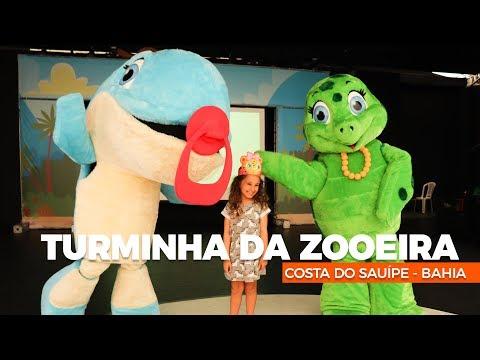Costa do Sauipe, a Turminha da Zooeira chegou