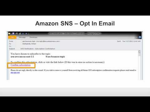 Webinar: Handling Bounces and Complaints with Amazon Simple Email Service