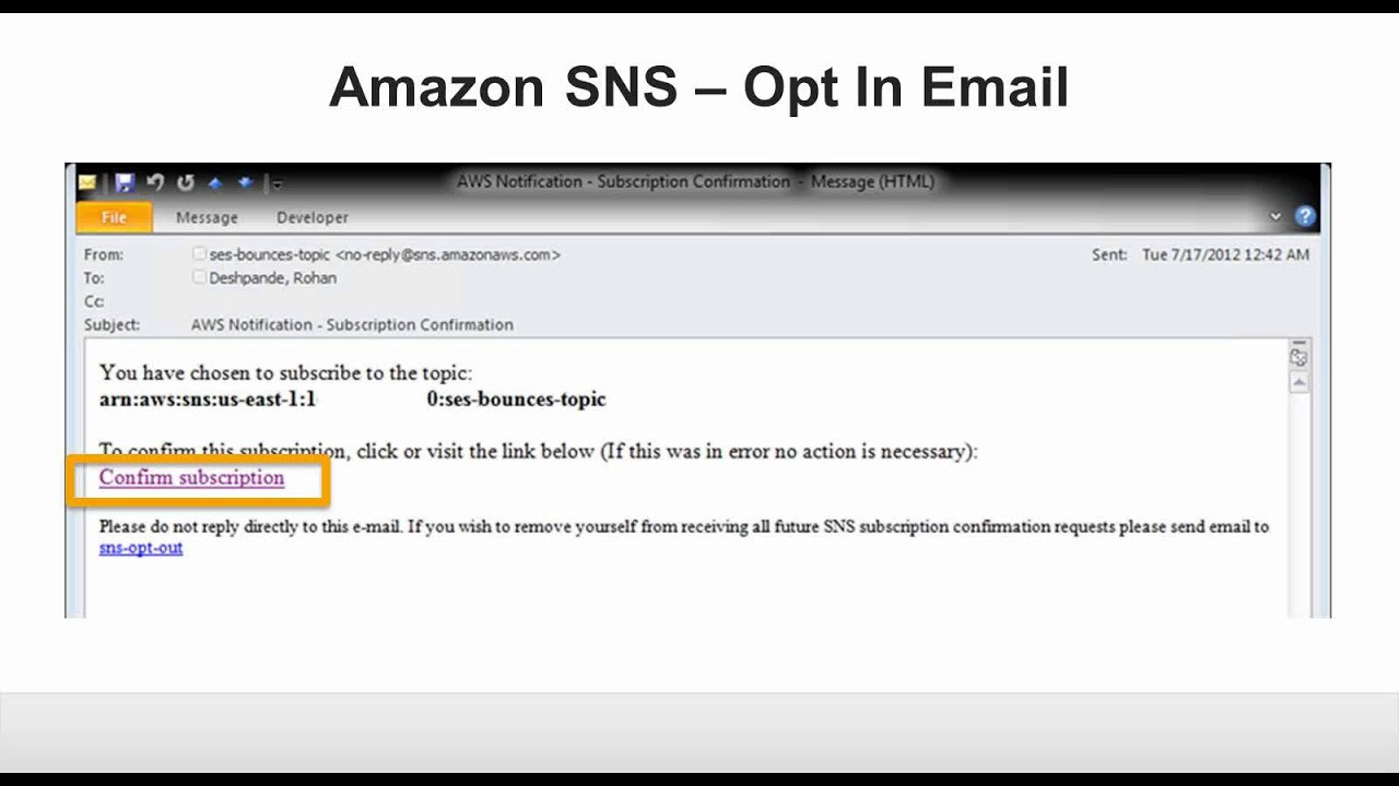 Webinar: Handling Bounces And Complaints With Amazon Simple Email Service    YouTube  Complaint Mail Format
