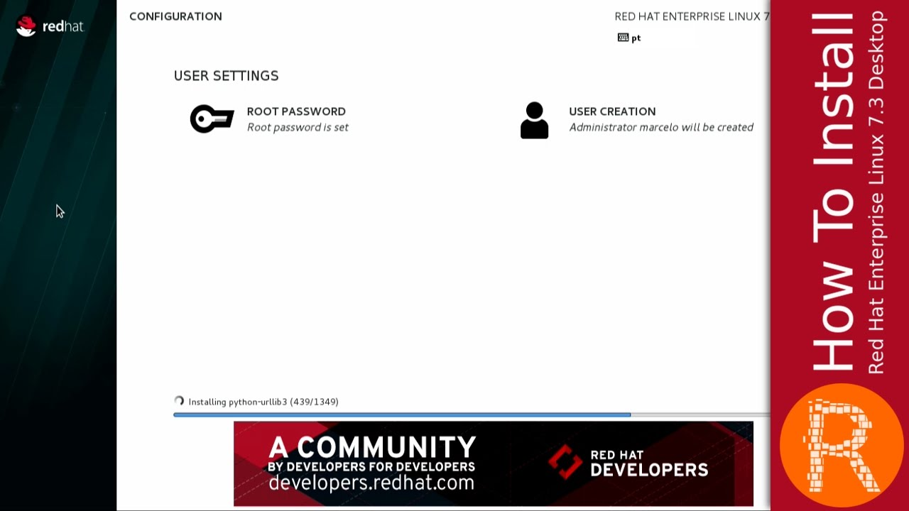 how to install red hat enterprise linux 7 3 desktop youtube rh youtube com Red Binder Operations Manual Red