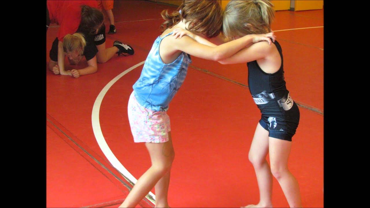 Youtube girls wrestling having