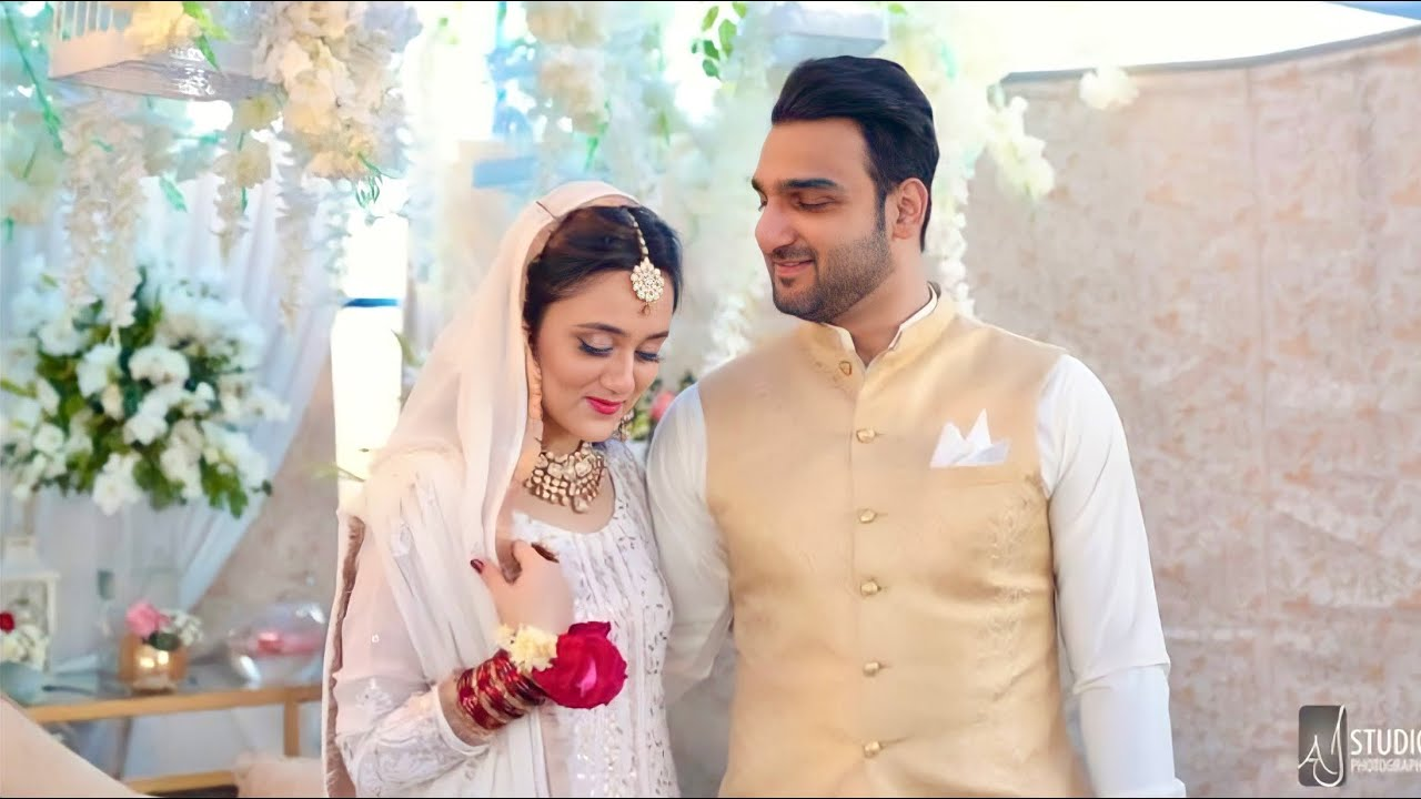 Maham & Hassan Nikkah Highlights // Pakistani Wedding Highlights Karachi // Asian Wedding 2021