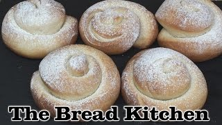 Spanish Ensaimadas Breakfast Rolls Recipe in The Bread Kitchen