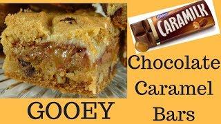 Gooey Chocolate-Caramel (Caramilk) Bars