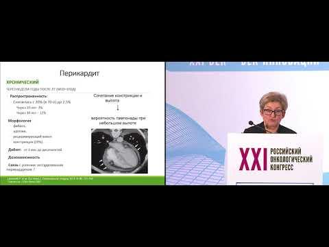 Кардиальные осложнения лучевой терапии злокачественных опухолей