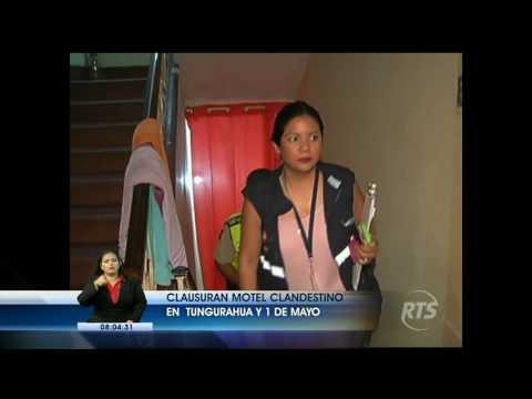 Clausuran motel clandestino en el centro de Guayaquil