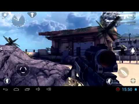 Обзор игры  Modern Combat 4 Zero Hour  для Андроид