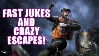 FAST JUKES AND CRAZY ESCAPES! Survivor Gameplay Dead By Daylight